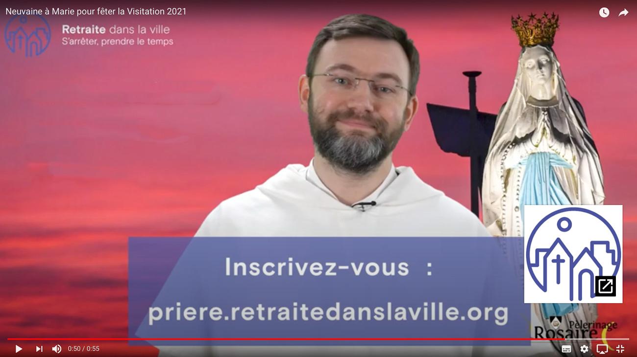 NEUVAINE À MARIE, DE LA PENTECÔTE À LA VISITATION AVEC <em>PRIERE DANS LA VILLE</em>